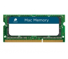 Оперативная память Corsair Mac Memory 8GB DDR3 SO-DIMM PC3-10600 (CMSA8GX3M1A1333C9)
