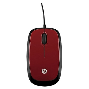 Мышь HP X1200 (красный) [H6F01AA]