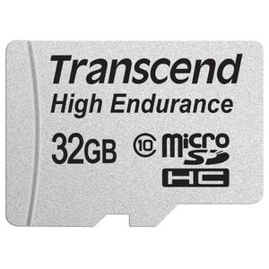 Карта памяти Transcend microSDHC HE (Class 10) UHS-I 32GB + адаптер [TS32GUSDHC10V]