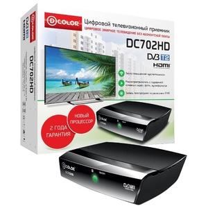 Приемник цифрового ТВ D-Color DC702HD