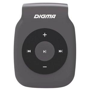 MP3 плеер Digma P2 (серый)