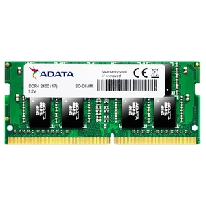 Оперативная память A-Data DDR4 SODIMM 8GB AD4S2400W8G17-S