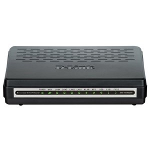 Беспроводной маршрутизатор D-Link DVG-N5402SP/2S1U/C1