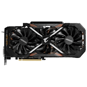 Видеокарта Gigabyte GeForce GTX1080Ti GV-N108TAORUS-11GD nVidia GeForce 11010Mb
