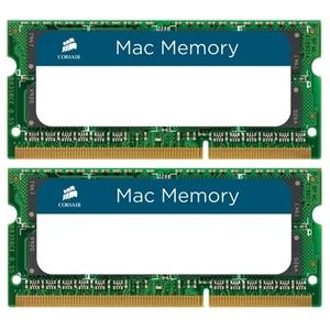 Оперативная память Corsair Mac Memory 2x8GB DDR3 SO-DIMM PC3-12800 (CMSA16GX3M2A1600C11)
