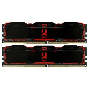 Оперативная память GOODRAM IRDM X 2x4GB DDR4 PC4-21300 IR-X2666D464L16S/8GDC