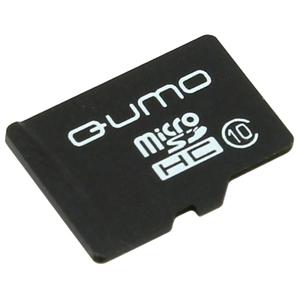 Карта памяти QUMO microSDHC QM32GMICSDHC10NA 32GB