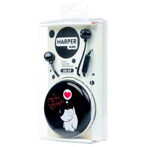 Наушники с микрофоном Harper Kids HK-39 (белый)