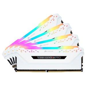 Оперативная память Corsair Vengeance PRO RGB 4x16GB DDR4 PC4-25600 CMW64GX4M4C3200C16W