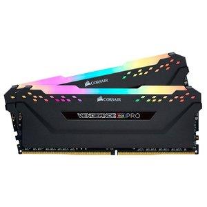 Оперативная память Corsair Vengeance PRO RGB 2x8GB DDR4 PC4-27700 CMW16GX4M2C3466C16