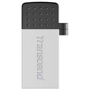 USB Flash Transcend JetFlash 380S 64GB Silver (TS64GJF380S )