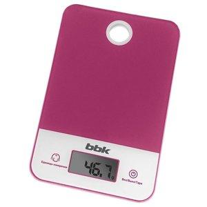 Кухонные весы BBK KS109G (фиолетовый)