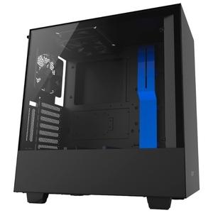 Корпус  NZXT H500i Smart Black-Blue (CA-H500W-BL)