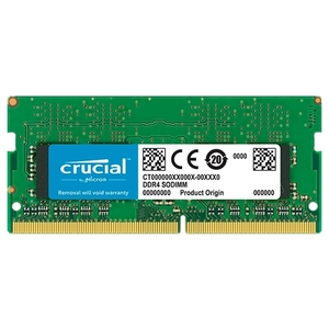 Оперативная память SO-DIMM DDR4 4Gb Crucial (CT4G4SFS8266)
