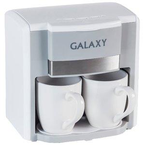Капельная кофеварка Galaxy GL0708 (белый)