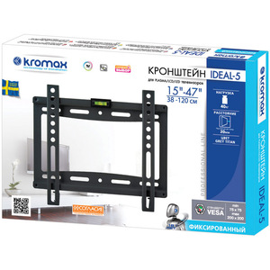 Кронштейн Kromax IDEAL-5 Black