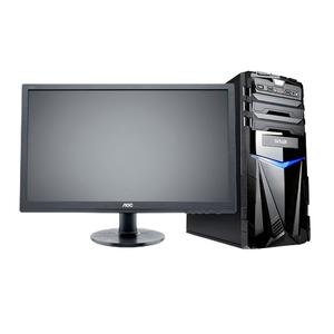 """Компьютер игровой с монитором 24"""" на базе процессора AMD A6-9500"""