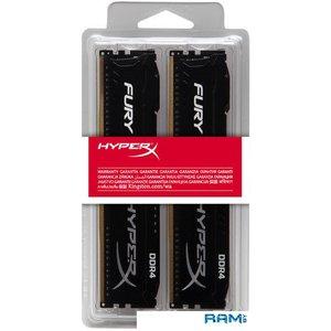 Оперативная память HyperX Fury 2x8GB DDR4 PC4-21300 HX426C16FB3K2/16