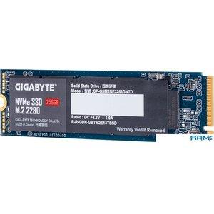 SSD Gigabyte NVMe 256GB GP-GSM2NE3256GNTD