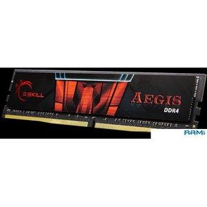 Оперативная память G.Skill Aegis 16GB DDR4 PC4-21300 F4-2666C19S-16GIS