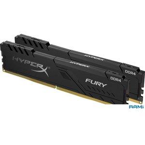 Оперативная память HyperX Fury 2x4GB DDR4 PC4-19200 HX424C15FB3K2/8