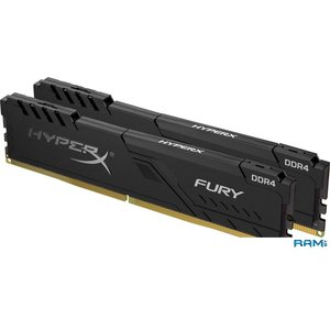 Оперативная память HyperX Fury 2x4GB DDR4 PC4-24000 HX430C15FB3K2/8