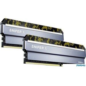 Оперативная память G.Skill Sniper X 2x16GB DDR4 PS4-28800 F4-3600C19D-32GSXKB