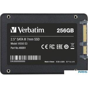 SSD Verbatim Vi550 S3 256GB 49351