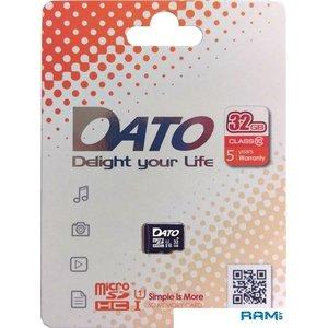 Карта памяти Dato microSDHC DTTF032GUIC10 32GB