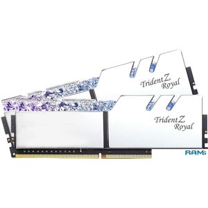 Оперативная память G.Skill Trident Z Royal 4x8GB PC4-28800 F4-3600C16Q-32GTRSC