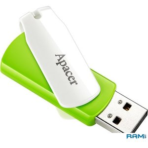USB Flash Apacer AH335 32GB (зеленый)