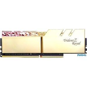 Оперативная память G.Skill Trident Z Royal 2x16GB PC4-28800 F4-3600C16D-32GTRGC
