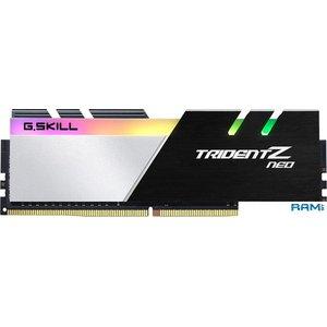 Оперативная память G.Skill Trident Z Neo 2x16GB DDR4 PC4-25600 F4-3200C14D-32GTZN