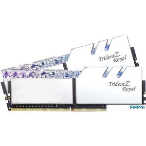 Оперативная память G.Skill Trident Z Royal 4x8GB PC4-24000 F4-3000C16Q-32GTRS