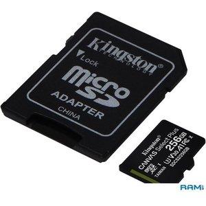 Карта памяти Kingston Canvas Select Plus microSDXC 256GB (с адаптером) [SDCS2/256GB]
