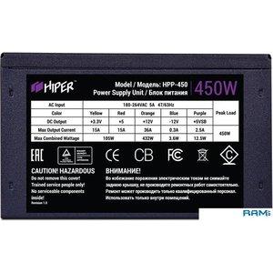 Блок питания Hiper HPP-450