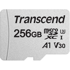 Карта памяти Transcend 300S 256GB (с адаптером)