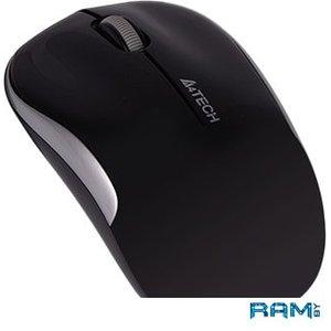Мышь A4Tech G3-300N (черный/серебристый)