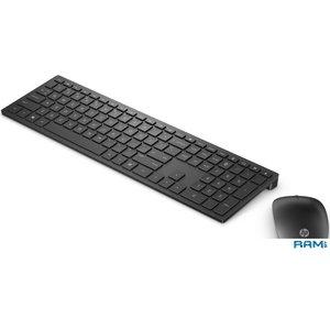 Клавиатура + мышь HP Pavilion 800 (черный)