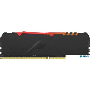 Оперативная память HyperX Fury RGB 16GB DDR4 PC4-29800 HX437C19FB3A/16