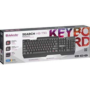 Клавиатура Defender HB-790 RU
