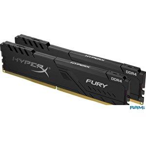 Оперативная память HyperX Fury 2x16GB DDR4 PC4-29800 HX437C19FB3K2/32