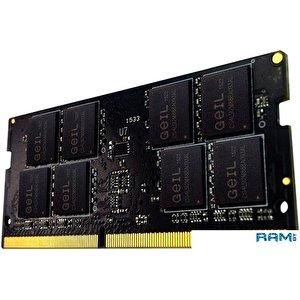Оперативная память GeIL 8GB DDR4 SODIMM PC4-19200 GS48GB2400C17SC
