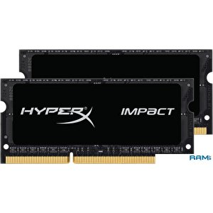 Оперативная память Kingston HyperX Impact 2x8GB DDR3 SO-DIMM PC3-17000 (HX321LS11IB2K2/16)