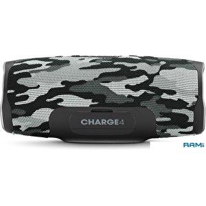 Беспроводная колонка JBL Charge 4 (черно-белый камуфляж)