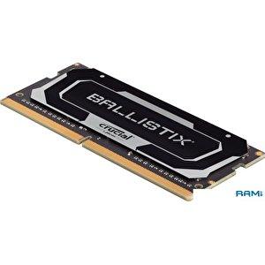 Оперативная память Crucial Ballistix 16GB DDR4 SODIMM PC4-21300 BL16G26C16S4B