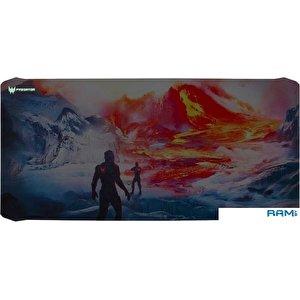 Коврик для мыши Acer Predator Mousepad Magma Battle XXL