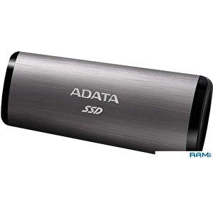 Внешний накопитель A-Data SE760 1TB ASE760-1TU32G2-CTI (титан)