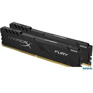 Оперативная память HyperX Fury 2x16GB DDR4 PC4-21300 HX426C16FB4K2/32