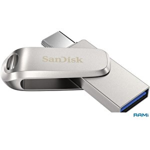 USB Flash SanDisk Ultra Dual Drive Luxe USB Type-C 256GB